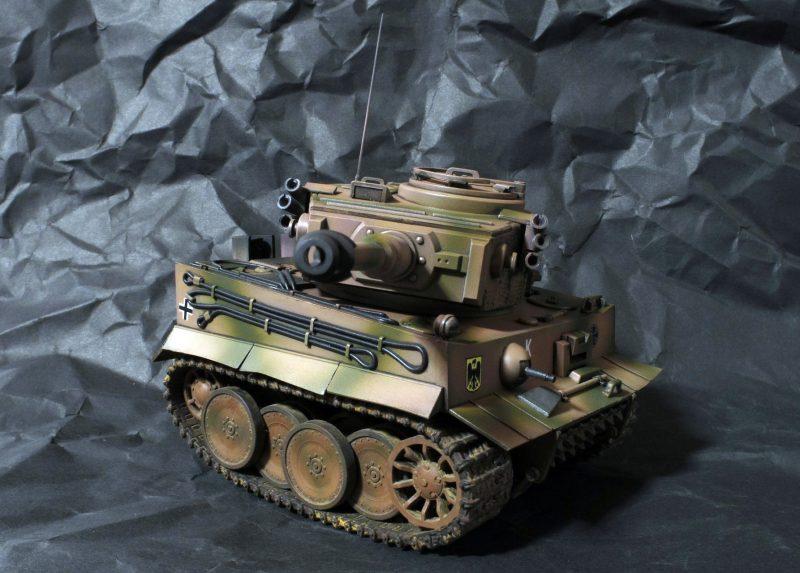 モンモデル ティーガーⅠ WWT