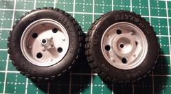 タイヤの処理