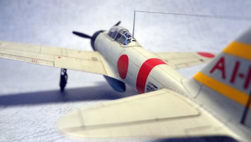 タミヤ 1/72 三菱 零式艦上戦闘機二一型